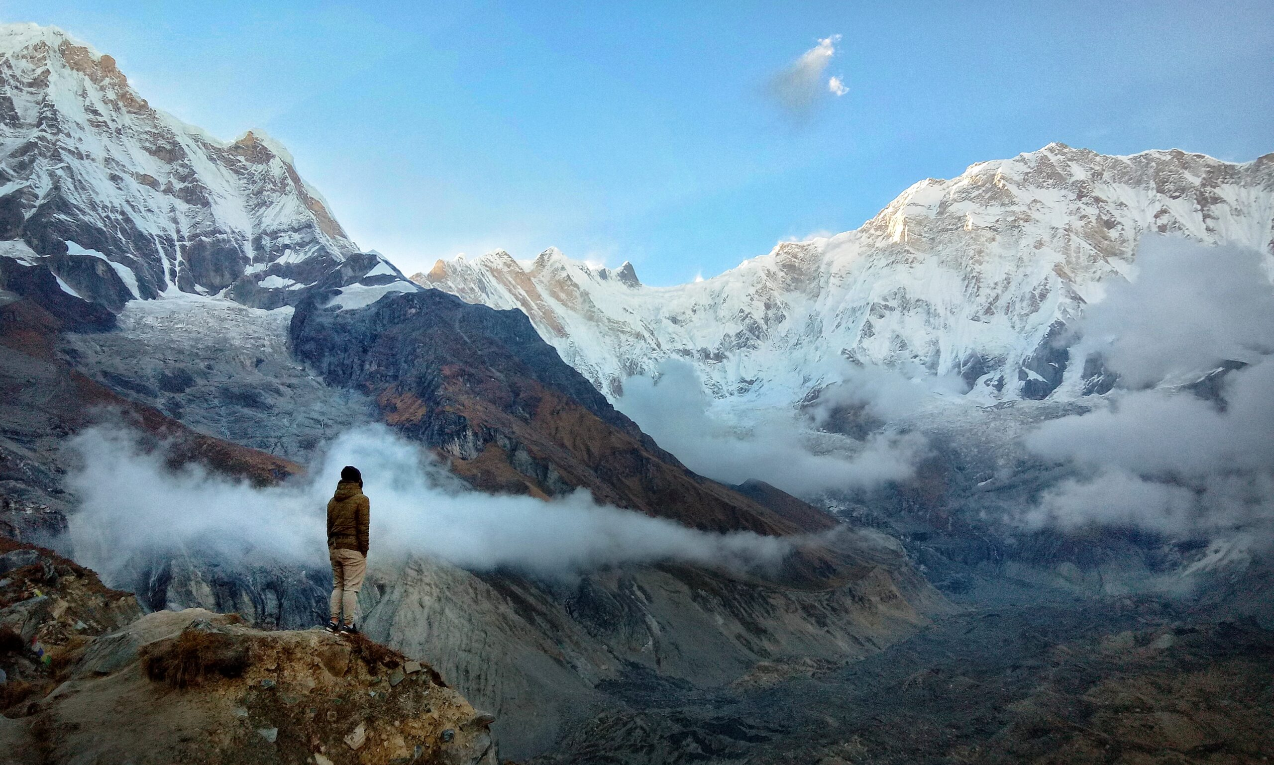 Annapurna Base Camp Trek With Best Guide And New Experience