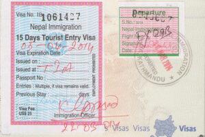 Tourist Visa in Nepal