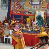 Upper Mustang Tiji Festival Trek is a popular festival trek in Nepal rewarding with the Tibetan Buddhist culture and tradition in Trans-Himalayan Region.